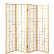 179cm x 182cm Vernon Paravent 4 Panel Room Divider