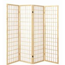 179cm x 182cm Vernon Paravent 4 Panel Room Divider