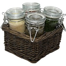 Mare Spice Jar Set (Set of 4)