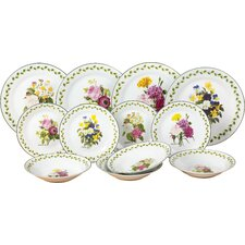 Porcelain 12 Piece Dinnerware Set