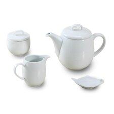 4 Piece Porcelain Tea Set