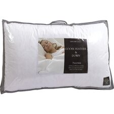 Genuine Goose Feather and Down Pillow (Set of 2)