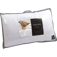 Genuine Goose Feather Pillow (Set of 2)