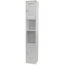 31 x 181cm Free Standing Tall Bathroom Cabinet