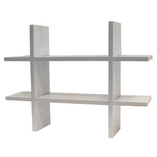 2 Shelf Accent Shelf