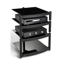 Coombe Hi Fi Celebration LE Rack with Shelves in Gloss Black