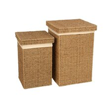 Seagrass 2 Piece Laundry Basket Set
