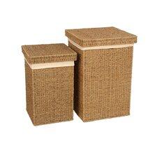 Seagrass 2 Piece Laundry Basket Set