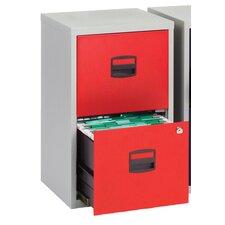 Bisley 2-Drawer Vertical Filing Cabinet