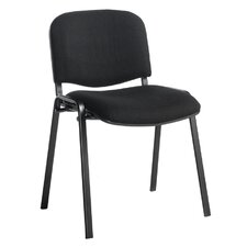 Ellemeet Armless Stacking Chair with Cushion