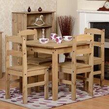 Balder Dining Table and 4 Chairs