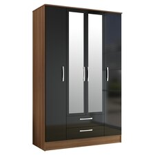 Lincoln 4 Door Wardrobe