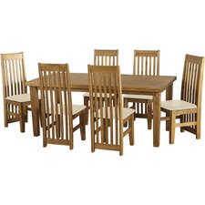 Tortilla Dining Table and 6 Chairs