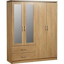 Rossett 4 Door Wardrobe
