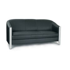 Reception Genuine Leather 3 Seater Sofa