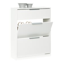 Shoe Cabinet with Key Drawer