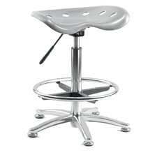 Tek High Rise Counter / Draughtsman's Stool