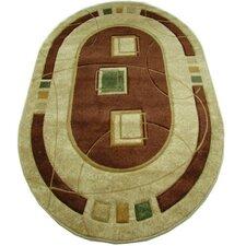 Teppich Charoite in Beige/Braun