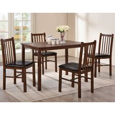 Benny Dining Table and 4 Chairs
