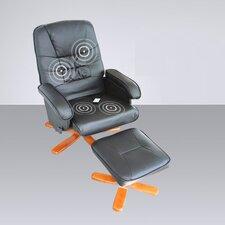 Massagesessel mit Fußhocker