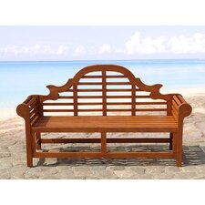 3-Sitzer Gartenbank aus Holz