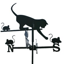 Cat and Mouse Weathervane