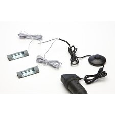 2-er. LED Glaskantenbeleuchtungsset
