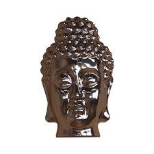 Wanddekoration Buddhakopf