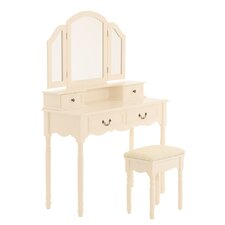 Olivia Dressing Table with Mirror