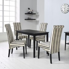 Solomon Dining Table and 4 Chairs