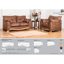 Lyon 3 Piece Living Room Set