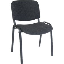 Armless Conference Utility Stacking Chair with Cushion
