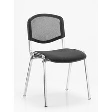 Kolding Armless Iso Stacking Chair with Cushion