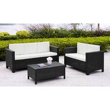 5-tlg. Sofa-Set mit Kissen