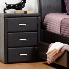 Aleen 3 Drawer Nightstand