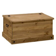 Classic Corona Wooden Blanket Box