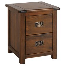 Iris 2 Drawer Bedside Table