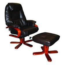 Atlanta Recliner and Footstool