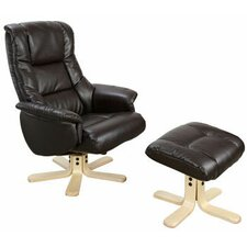 Chicago Recliner and Footstool