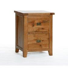Xander 2-Drawer Vertical Filing Cabinet