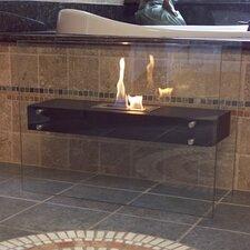 La Strada Freestanding Bio Ethanol Fireplace