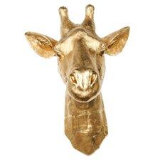 Faux Taxidermy Resin Faux Giraffe Head Wall Décor