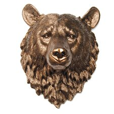 Faux Taxidermy Bear Head Wall Décor