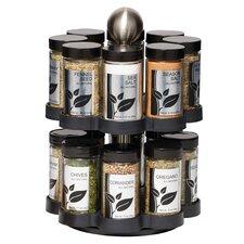 16 Jar Round Madison Spice Carousel