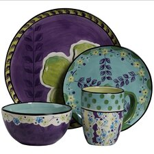Happiness 4 Piece Round Place Setting