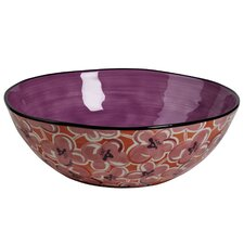 "Hearts and Flowers 12.38"" Vegetable Bowl"