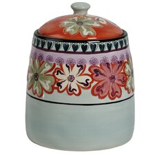 Hearts and Flowers 164-Ounce Cookie Jar