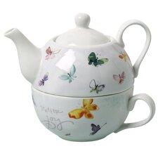 Butterflies Promise 2 Piece Tea Set