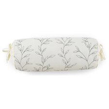 Stillness Cotton Neckroll Throw Pillow