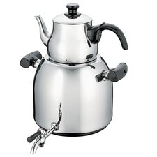 Stainless Steel Double Steamer Kettle